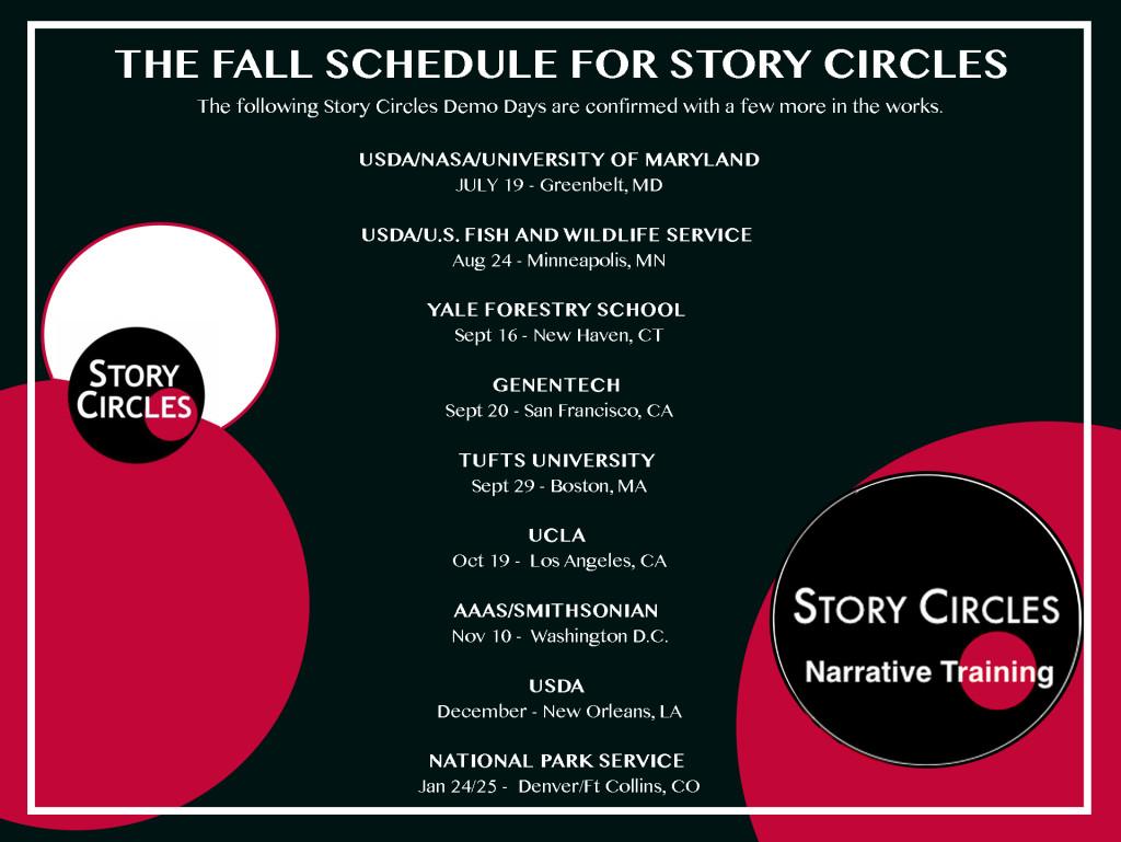 FALL STORY CIRCLES