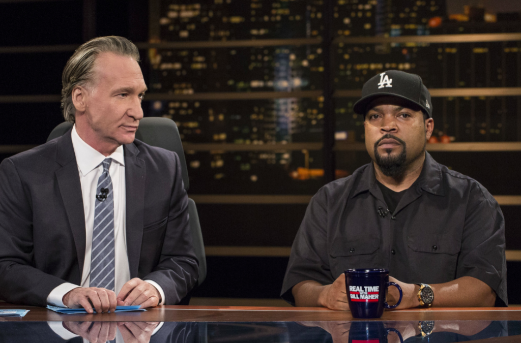 Ice Cube asked whether the show is comedy or news. That's called wanting the singular narrative.