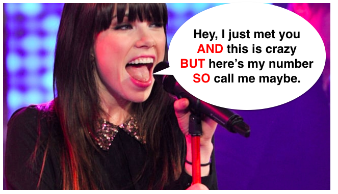 "I KNEW THERE WAS SOMETHING BRILLIANT ABOUT THIS SONG. Carly Rae Jepsen's 2012 mega-hit ""Call Me Maybe"" is the simplest ABT ever."