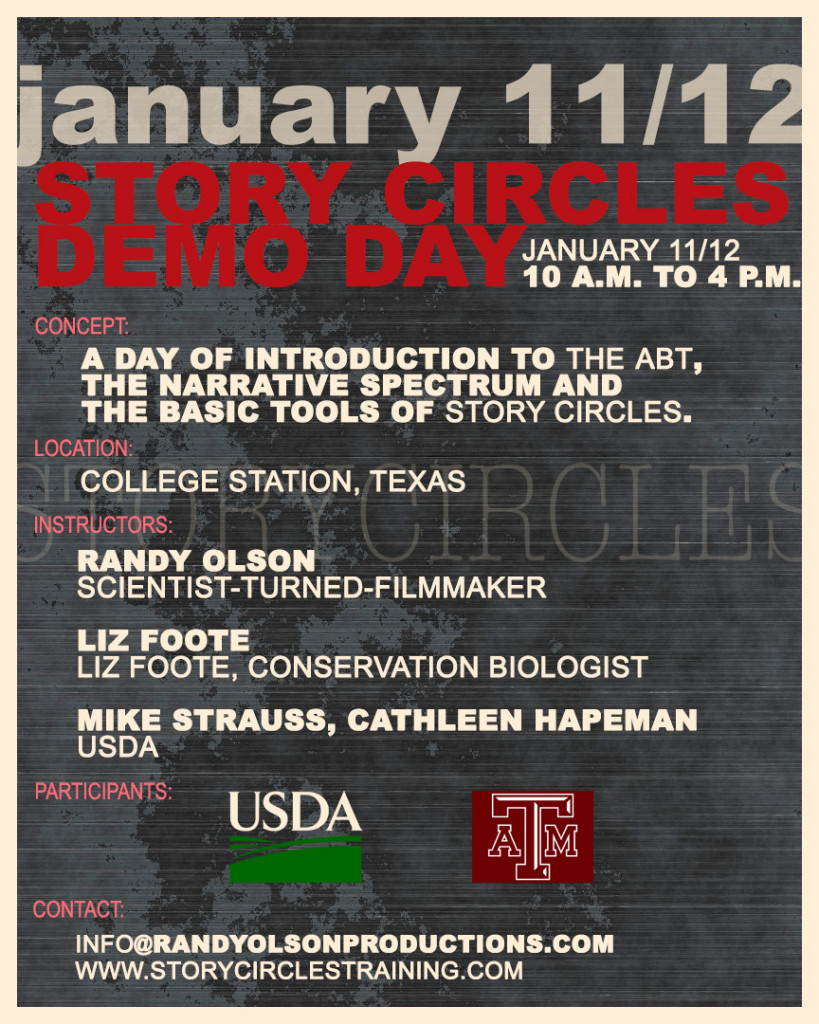 OBSERVERS WELCOME: Next week we're running back to back Demo Days with Texas A&M faculty and USDA scientists. We always welcome a certain number of observers. If you're interested, contact us.